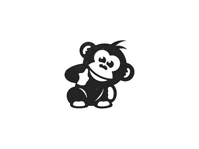 Monkey custom logo design brand mark symbol designer logotype iconography icon designer icon symbol monkey animal brandmark brandidentity identity branding logo design logo