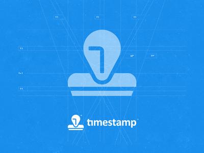 Timestamp Logo - Icon Construction