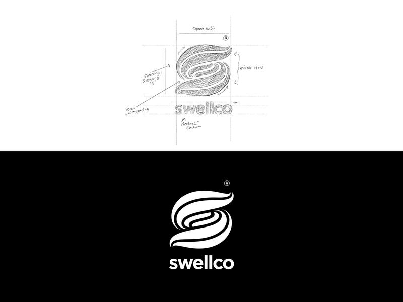 Swellco monogram logo custom logo design monogram typography symbol designer branding identity identity designer mark brandmark logo designer logo design logo