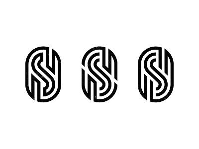 S mark WIP monoline monogram custom logo design typography symbol designer branding identity mark identity designer brandmark logo designer logo design logo