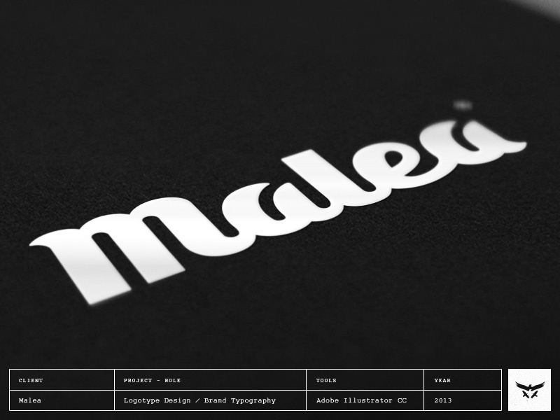 Malea Logotype / Wordmark Design logotype wordmark brand typography lettering logo design
