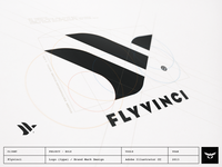 Flyvinci - Logo / Brand Mark Design