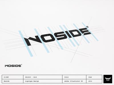 Noside - Logotype Design noside film video logotype lettering brand typography logo design
