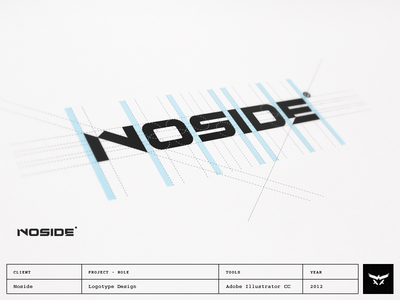 Noside - Logotype Design noside film video logotype lettering brand typography logo design