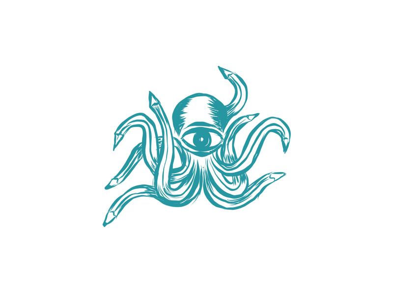 Task Octopus - sketch illustration octopus custom logo design identity designer branding identity brandmark mark logo designer logo design logo