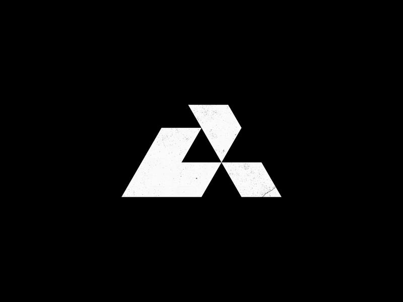 A monogram custom logo design custom type typography symbol designer branding identity identity designer brandmark mark logo designer logo design logo