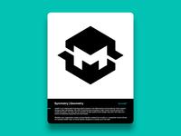 M cresk gert van duinen geomark monogram typography custom logo design symbol designer branding identity identity designer mark brandmark logo designer logo design logo