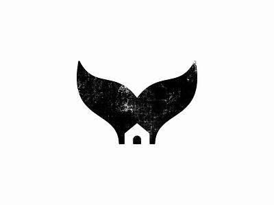 Whale House symbol house whale animal custom logo design symbol designer branding identity identity designer mark brandmark logo designer logo design logo