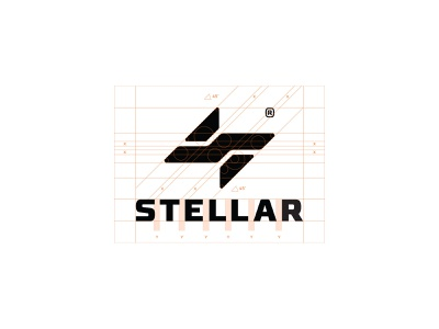 Stellar Sportswear monogram brand design sports logo sportswear typogaphy custom logo design symbol designer branding identity identity designer mark brandmark logo designer logo design logo