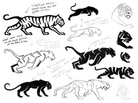 Tiger sketches work in progress process sketches tiger animal custom logo design symbol designer branding identity identity designer mark brandmark logo designer logo design logo