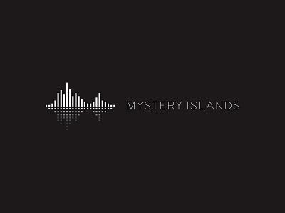 Mystery Islands edmlogo edm minimal music music logo custom logo design symbol designer branding identity identity designer mark brandmark logo designer logo design logo