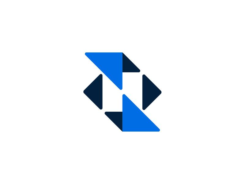 N-mark geometry monogram typography custom logo design symbol designer branding identity identity designer mark brandmark logo designer logo design logo