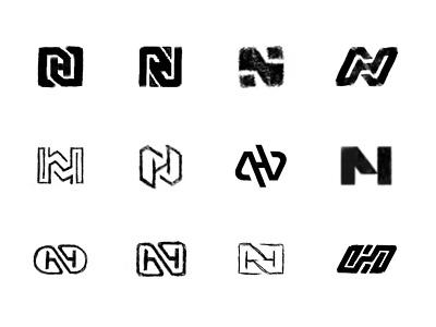 NH Sketches brandidentity process sketches monogram lettering typography custom logo design symbol designer branding identity identity designer mark brandmark logo designer logo design logo