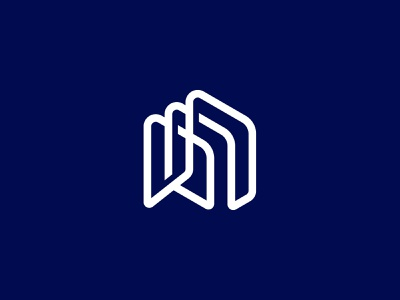 N-mark monoline monogram custom logo design symbol designer branding identity identity designer mark brandmark logo designer logo design logo