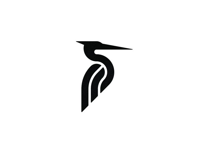 Final heron logo brandidentity animal heron custom logo design symbol designer branding identity identity designer mark brandmark logo designer logo design logo