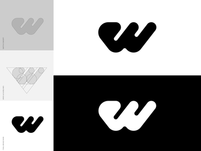 W Brand Mark - Logo Design brand mark mark identity icon designer custom logo design logo symbol designer identity designer logo designer brandmark logo design