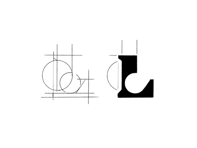 L Mark typography branding logotipos brand mark design monogram letter mark monogram design custom logo design logo logo designer logo design