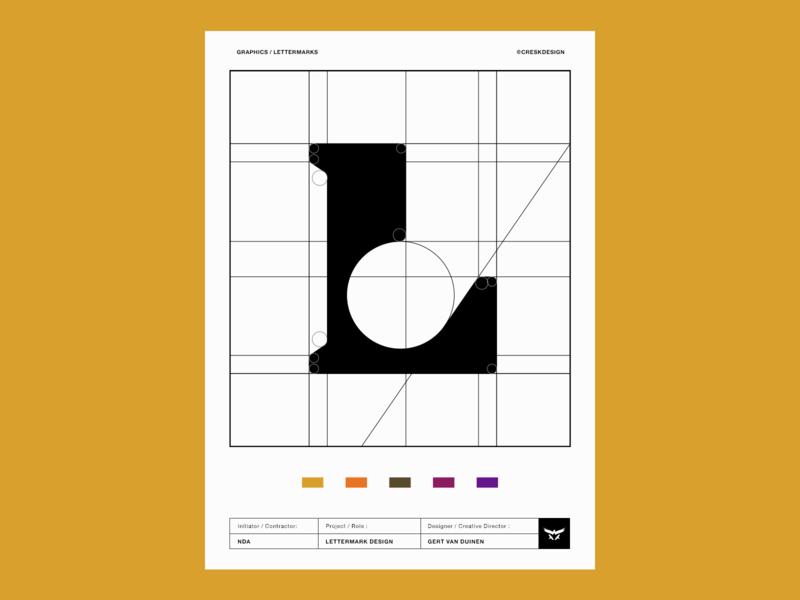 Lettermark / Monogram Design logo design branding illustration l monogram custom logo design identity designer brandmark logo designer lettermarklogo logodesign typography monogram lettermark