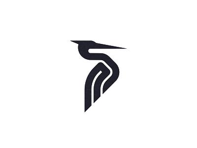 Final final heron. heron animal custom logo design symbol designer branding identity identity designer mark brandmark logo designer logo design logo