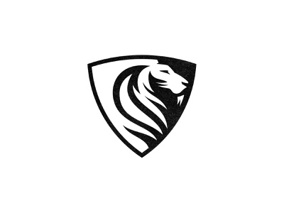 Lion Shield lion shield anima custom logo design symbol designer branding identity identity designer mark brandmark logo designer logo design logo