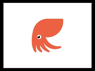 Geosquid geometry octopus squid animal custom logo design symbol designer branding identity identity designer mark brandmark logo designer logo design logo