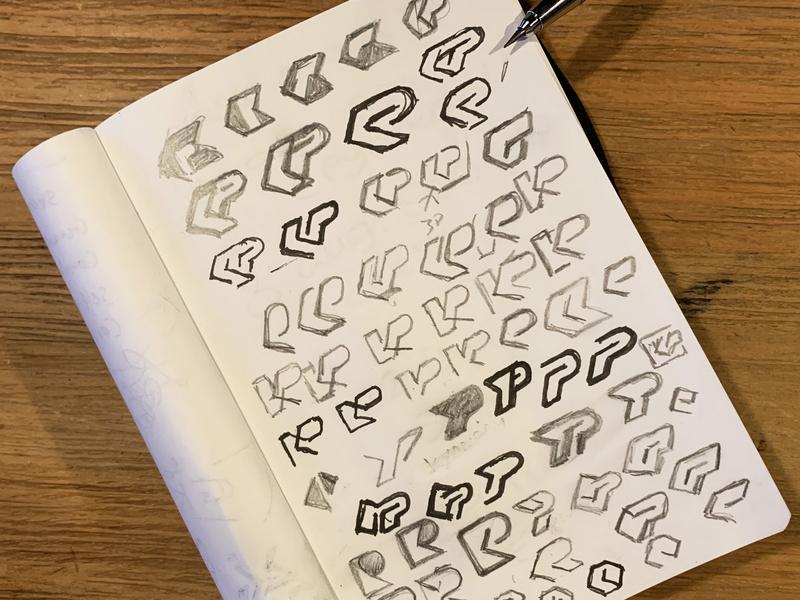 KP exploration sketches custom type custom monogram monogram sketchbook process sketches custom logo design symbol designer branding identity identity designer mark brandmark logo designer logo design logo