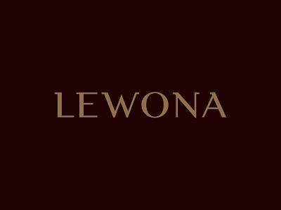 Lewona wordmark custom wordmark lettering custom typography wordmark typography custom logo design branding identity identity designer mark brandmark logo designer logo design logo