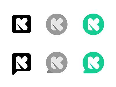 K communication monogram lettering letter typography custom logo design symbol designer branding identity identity designer mark brandmark logo designer logo design logo