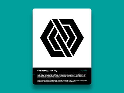 Geomark abstract logo symmetry geometry custom logo design symbol designer branding identity identity designer mark brandmark logo designer logo design logo