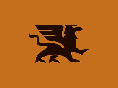 Griffin heraldic animal logo griffin animal custom logo design symbol designer branding identity identity designer mark brandmark logo designer logo design logo