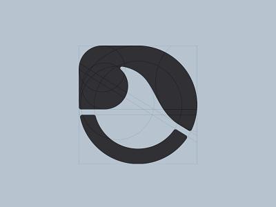 Sea Mark symbol gert van duinen cresk process guidelines wave sea custom logo design symbol designer branding identity identity designer mark brandmark logo designer logo design logo