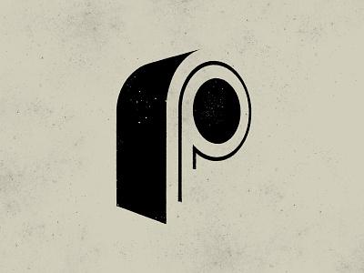 P - 36 Days of Type typography art gert van duinen cresk texture monogram typography custom logo design symbol designer branding identity identity designer mark brandmark logo designer logo design logo