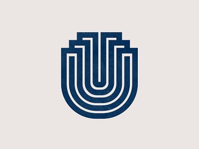 U mark monogram design symbol letter gert van duinen cresk monoline monogram custom logo design symbol designer branding identity identity designer mark brandmark logo designer logo design logo
