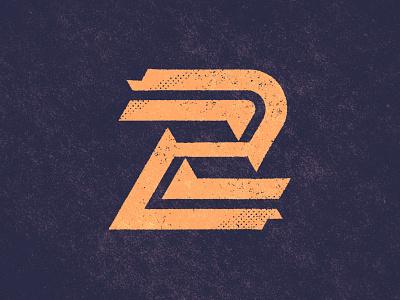 No. 2. brand identity monogram design 36daysoftype texture number monogram custom logo design symbol designer branding identity identity designer mark brandmark logo designer logo design logo