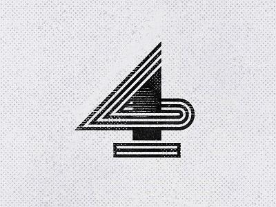 No.4 - 36 Days of Type gert van duinen cresk 4 number lettering typography custom logo design symbol designer branding identity identity designer mark brandmark logo designer logo design logo