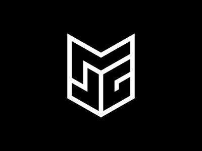 JMG 01 gert van duinen cresk brandidentity geometric monogram lettering typography custom logo design symbol designer branding identity identity designer mark brandmark logo designer logo design logo