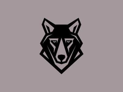 WOLF brand identity gert van duinen cresk geometry geometric logo wolves wolf animal logo animal custom logo design symbol designer branding identity identity designer mark brandmark logo designer logo design logo