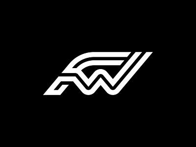 FW type symbol gert van duinen cresk lined logo monogram lettering typography symbol designer identity branding identity designer custom logo design mark brandmark logo designer logo design logo