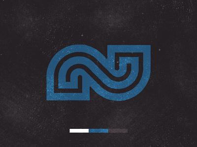 N letter procreate texture monogram lettering typography custom logo design symbol designer branding identity identity designer mark brandmark logo designer logo design logo