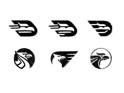 Eagle head sketches bird logo bird animal eagle eagle logo animal logo process sketches custom logo design symbol designer branding identity identity designer mark brandmark logo designer logo design logo