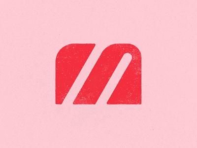M texture branding brand identity letter lettering typography monogram custom logo design identity identity designer mark brandmark logo designer logo design logo