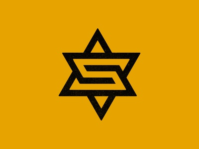 S star geometric logo lettering typography type letter star monogram custom logo design brand identity branding identity identity designer mark brandmark logo designer logo design logo