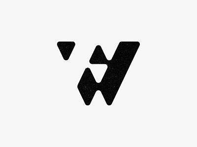 WF Mark brand identity custom logo design negative space monogram letter lettering type typography branding identity identity designer mark brandmark logo designer logo design logo