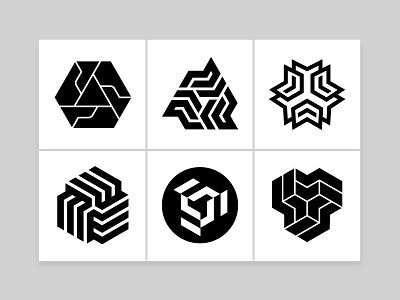 Geomarks brand design logo collection geometric logo geo mark brand identity graphic logotype abstract logo symbol custom logo design branding identity identity designer mark brandmark logo designer logo design logo