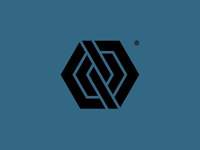 Geomark graphic design graphic symbol hexagon geometric logo geomark custom logo design branding brand identity design identity identity designer mark brandmark logo designer logo design logo