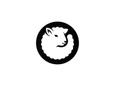 Final lamb logo illustration circular logo emblem badge negative space logo sheep lamb animal animal logo custom logo design brand identity design identity identity designer mark brandmark logo designer logo design logo