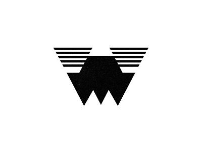 W geometric logo monogram type typography letter lettering custom logo design branding brand identity identity identity designer mark brandmark logo designer logo design logo