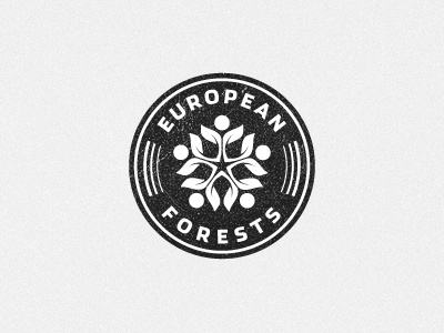 European Forests alliance european forests wildlife health nature badge emblem crest cresk logo designer identity designer icon designer symbol designer iconographer iconography