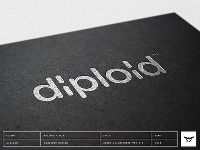 Diploid - Logotype / Wordmark Design