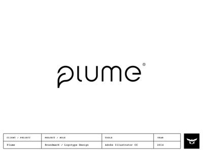 Plume - Logotype & Brandmark Design